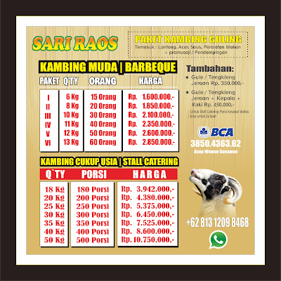 harga kambing guling sari raos | bulan juni 2020,harga kambing guling sari raos,harga kambing guling,kambing guling sari raos,kambing guling,