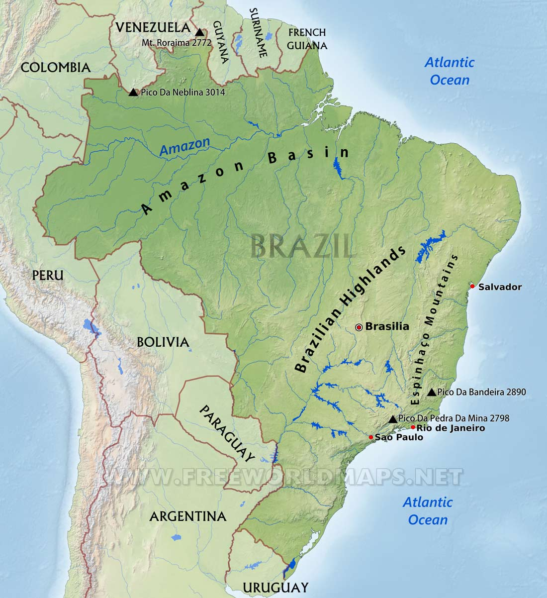 Infographics Maps Music And More Amazing Amazonia Part 1