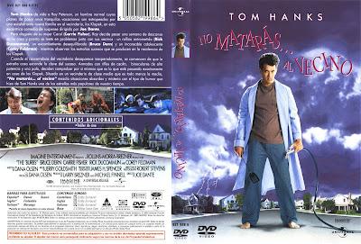 Carátula dvd: No matarás... al vecino
