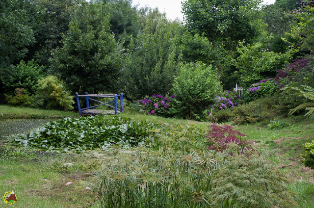 Jardines de la Fonte Baixa en Luarca (Jardines de Panrico)