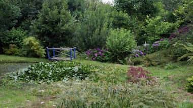 Jardines de la Fonte Baixa. Paraíso de Panrico y de Luarca