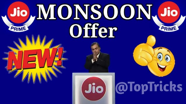 Jio Mansoon Offer Poori Jaankari Hindi Me