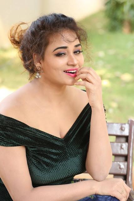 Actress Jayathi Stills At Lacchi Movie Interview