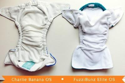 Perbedaan Celah Bukaan antara Charlie Banana dengan Fuzzibunz