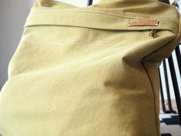 Meine Jeans Yello_bag