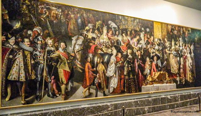 O Banquete de Herodes e a Decapitação de S. João Batista, de  Bartholomäus Strobel, no Museu do Prado, Madri