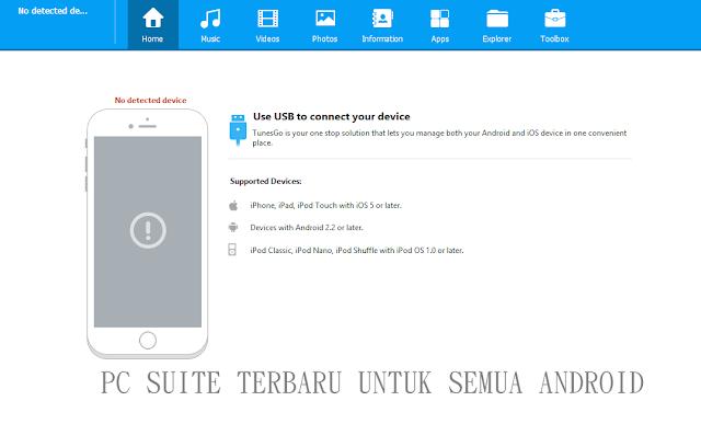 Pc Suite Terbaru Untuk Semua Merek Android