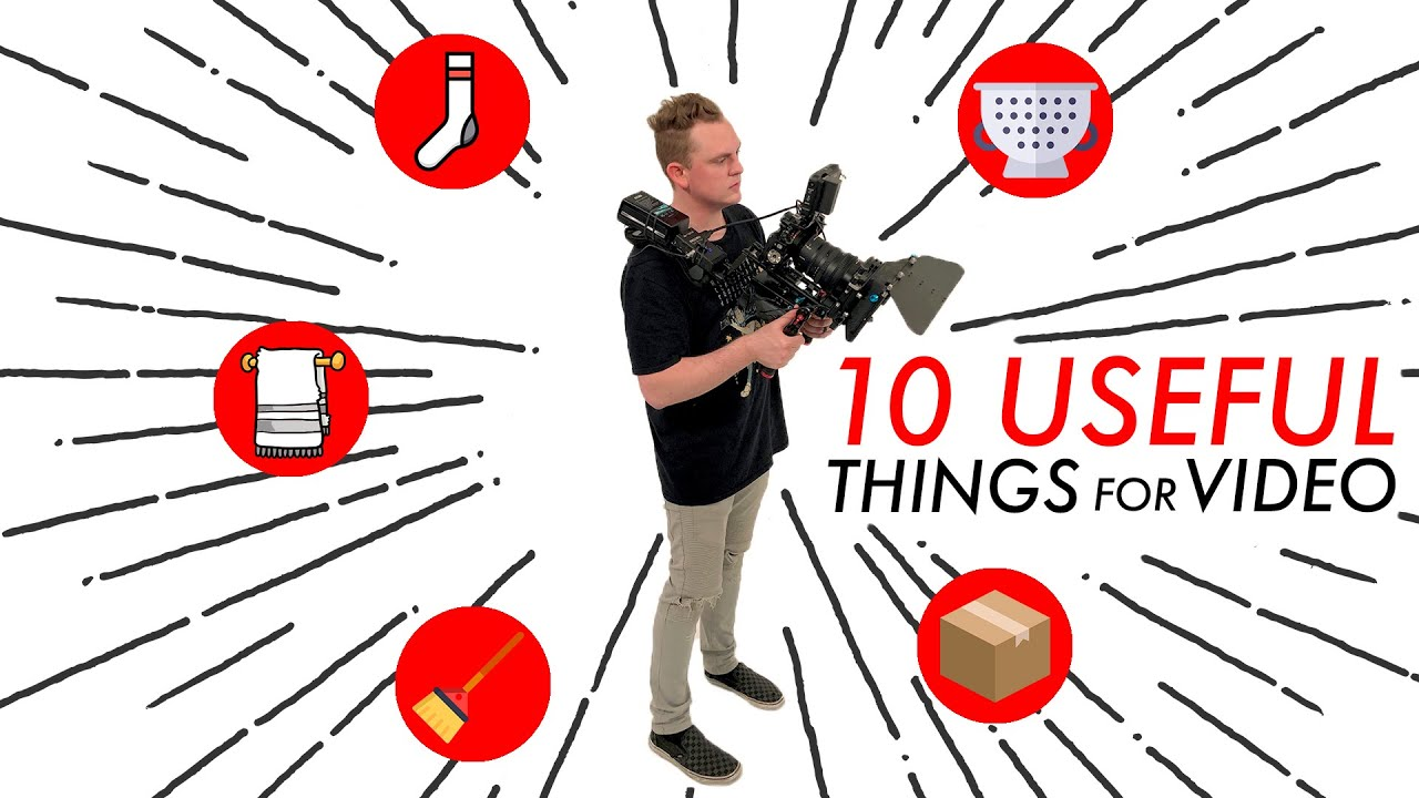 10 Household Items You Can Use For Filmmaking