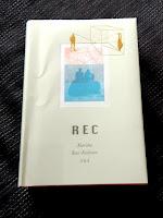 Kirjan REC kansikuva