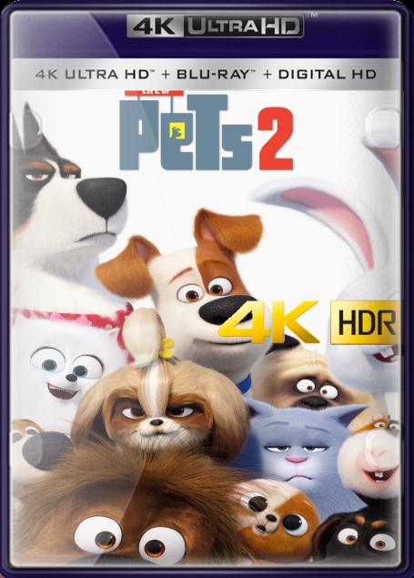Pelicula La Vida Secreta de Tus Mascotas 2 (2019) 4K HDR UHD LATINO/INGLES Online imagen