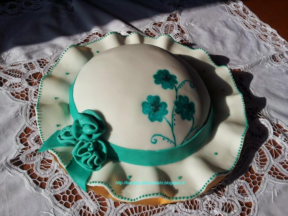 LE TORTE DI LORENA ....E NON SOLO!!!!!  Torta cappello estivo 051d5066b993
