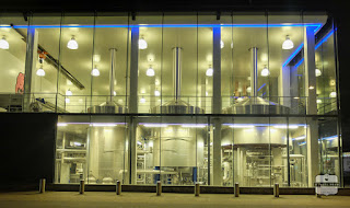 brouwerij Huyghe by night