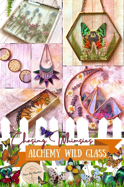 Chasing Whimsies: Alchemy Wild Glass stained glass art