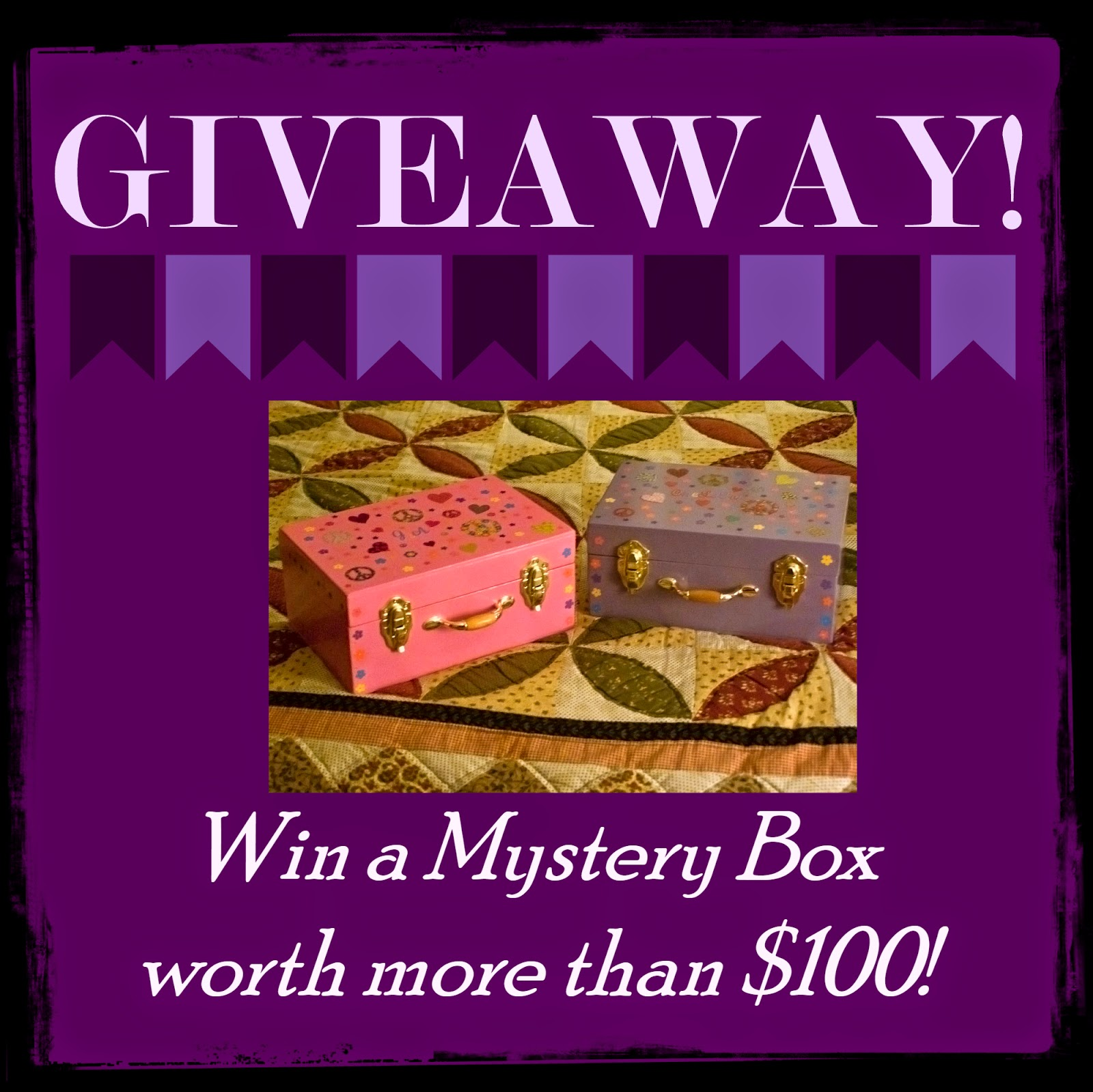 Organization Mystery Giveaway: Outside The Box: Mystery Box Giveaway