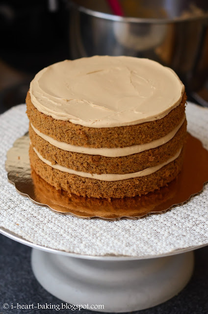 i heart baking!: coffee chiffon drip cake with espresso ...