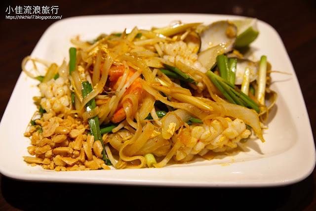 泰獅泰式料理,泰式酸辣海鮮炒河粉