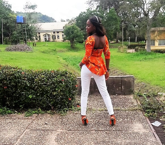 african ankara top