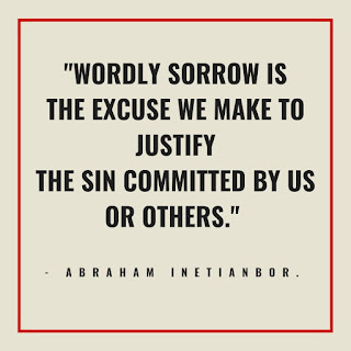 godly sorrow and wordly sorrow