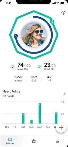 تطبيقات Android Pedometer المجانية Google Fit