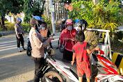 Ops Patuh 2020, Polres Pangkep Jaring 34 Pengendara Roda Dua