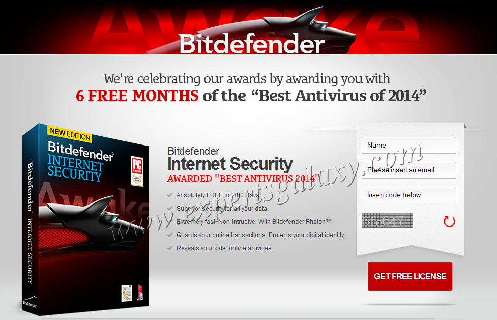 Bitdefender Internet Security Free License