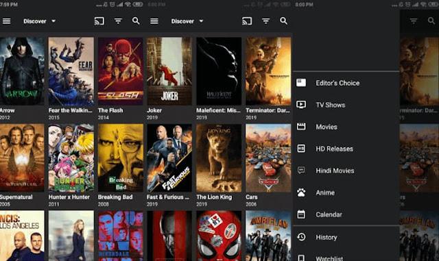 اليك أفضل 5 تطبيقات مجانية لمشاهدة جميع الأفلام و المسلسلات الحصرية مع الترجمة للعربية للأندرويد