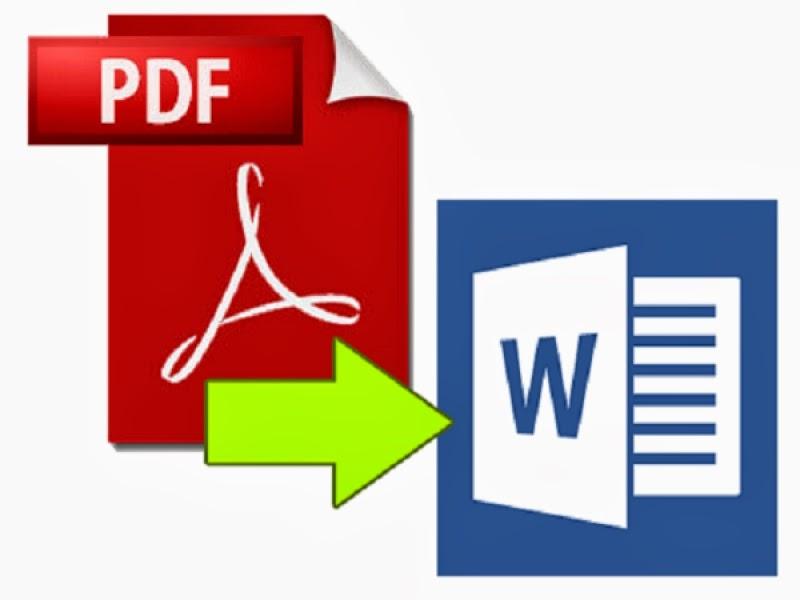 how do u convert word to pdf