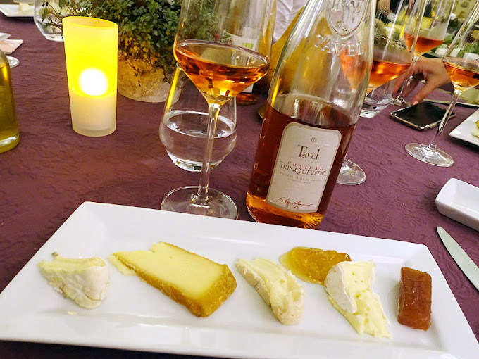 Entre Vigne & Garrigue - Cheese Plate with Tavel
