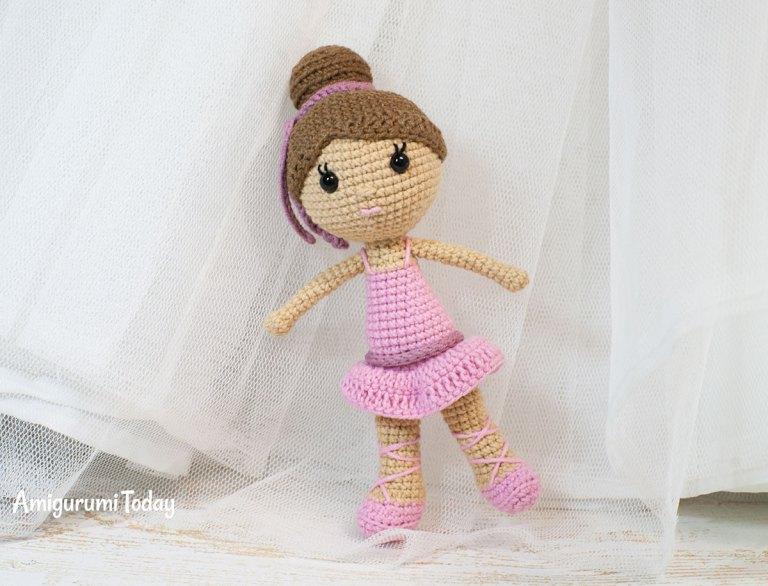 Häkelblog Täglich Neue Anleitungen Ballerina Puppe Häkelanleitung