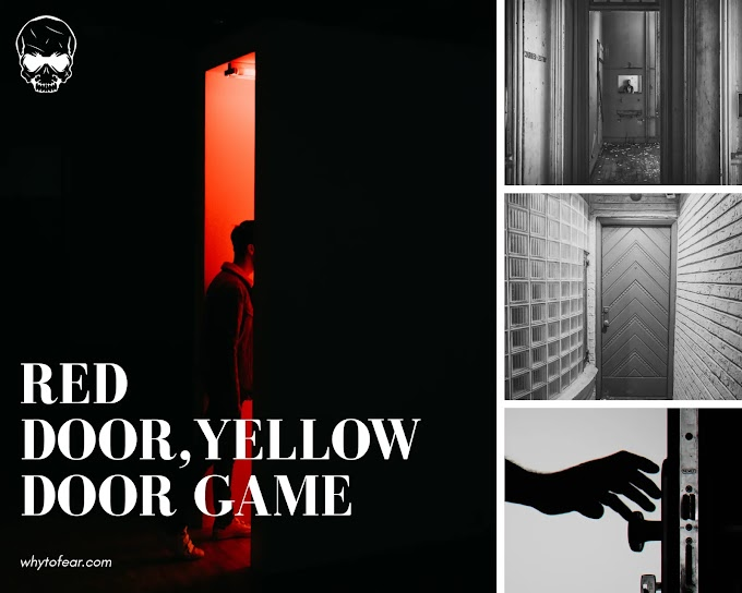 Red door yellow door-Scary mind door game