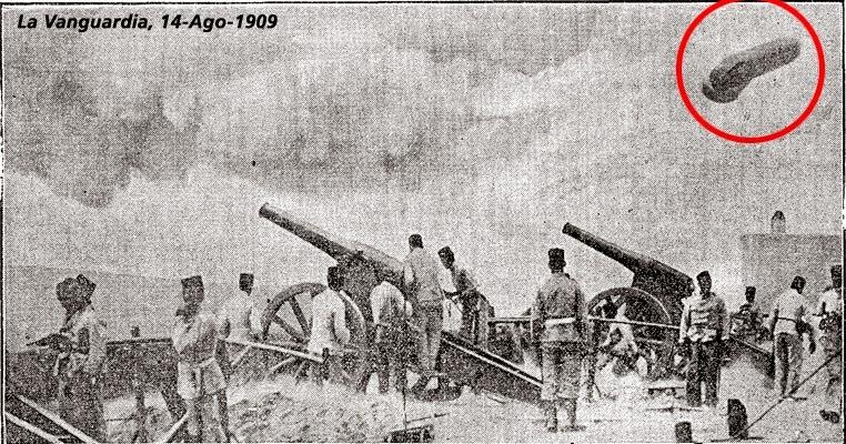 1909 cerca de melilla