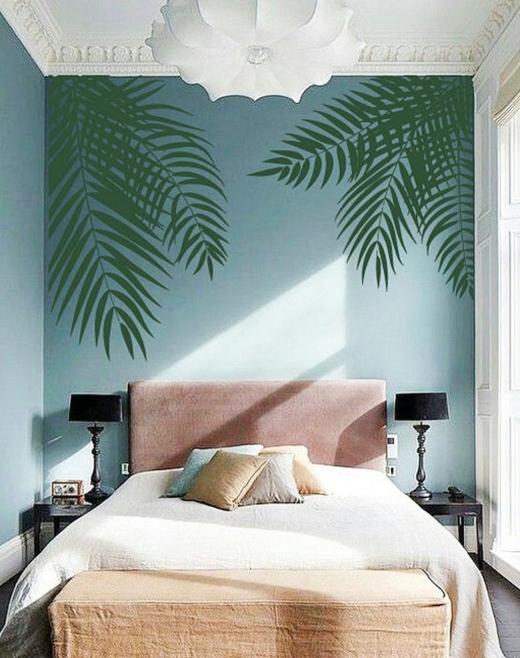 Palm Leaf Wall Decal