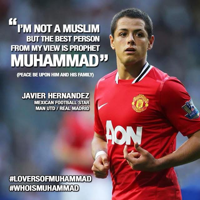 Javier Hernandez and Prophet Muhammed