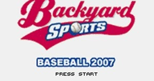 backyard sports baseball 2007 gba rom download game roms isos