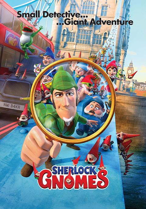 Gnomeo & Juliet: Sherlock Gnomes [2018] [DVDR] [NTSC] [Latino]