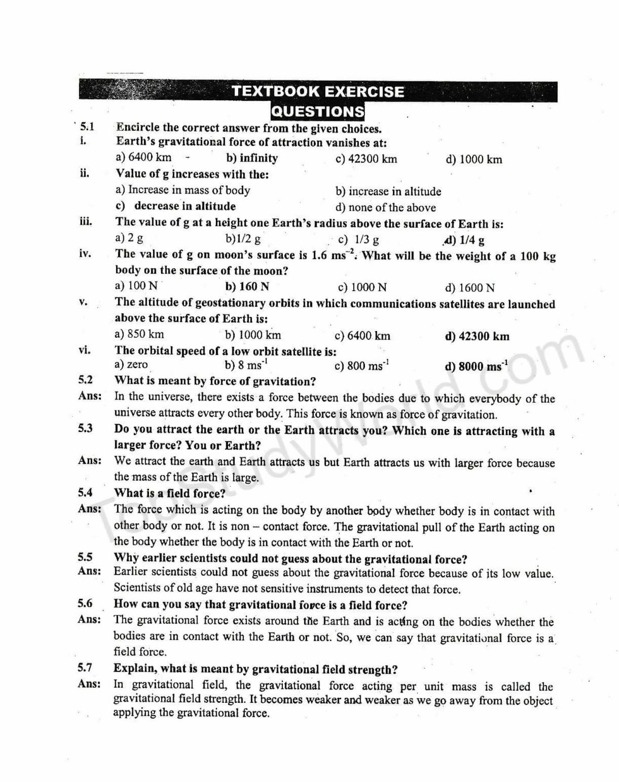 9th Class Biology Notes Pdf