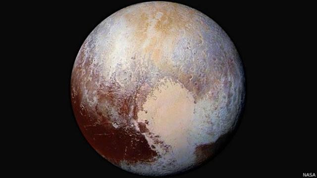 Mañana llegaremos a Plutón