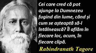 Maxima zilei: 7 mai - Rabindranath Tagore
