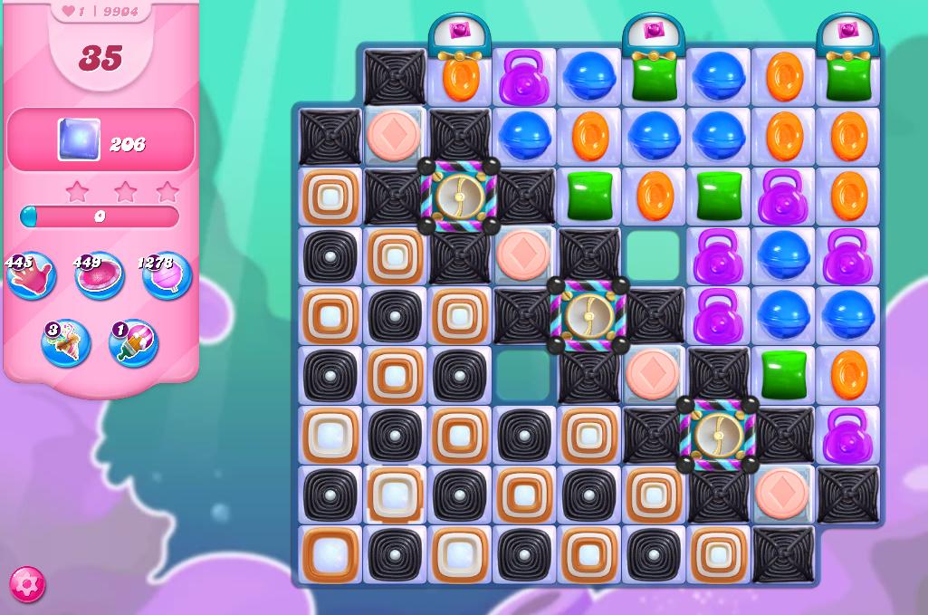 Candy Crush Saga level 9904