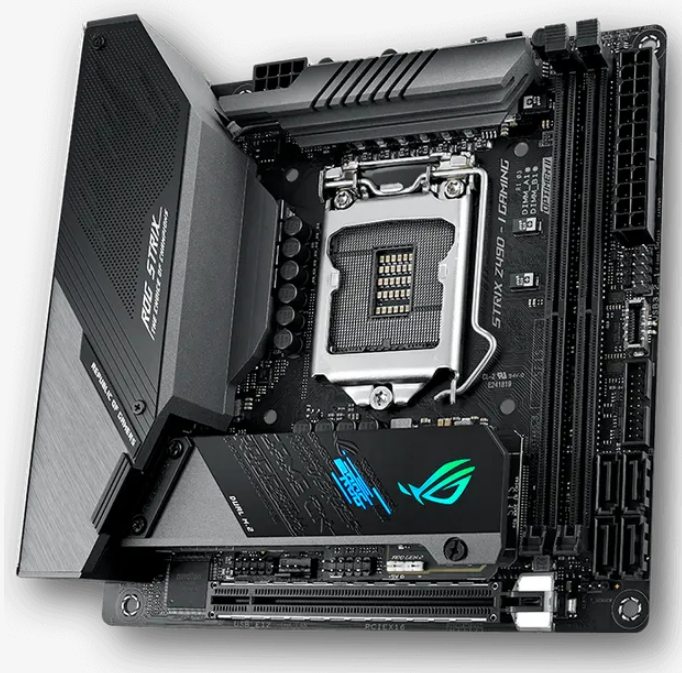 ASUS Motherboards With Z490 Chipset