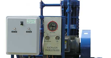 Canaan Industries LLC custom designs, builds, and installs natural gas compressors with Stahlin's Non-Metallic Enclosures