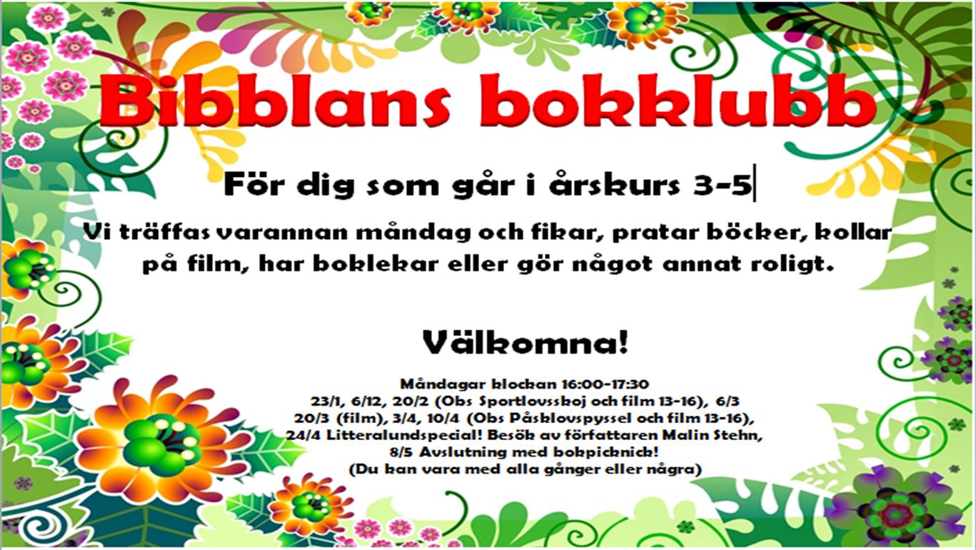 Biblioteksbloggen på Backaskolan i Lund  Tips till dig i åk 3! 1d014eb77d353