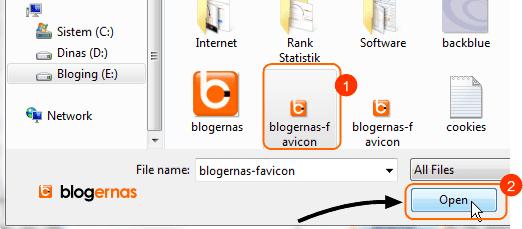 Cara Memasang Favicon Blog pada Blogger