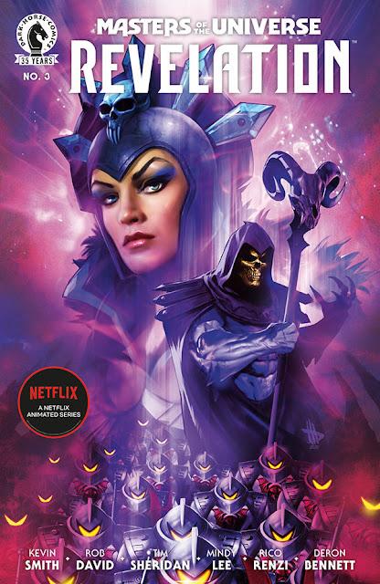 Masters of the universe Revelation, il terzo numero del fumetto prequel della serie Netflix