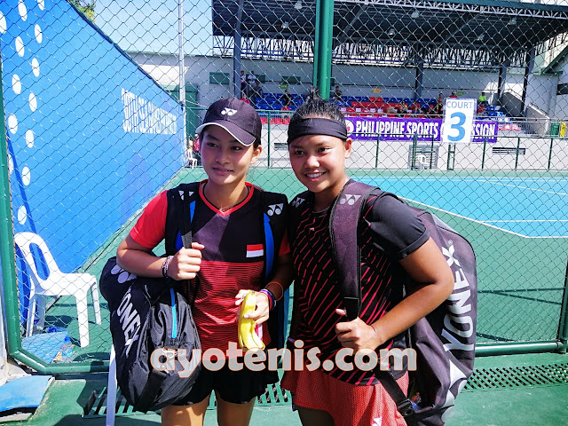 Tenis SEA Games: Ganyang Ganda Malaysia, Rifanti/Priska Melaju ke Perempat Final