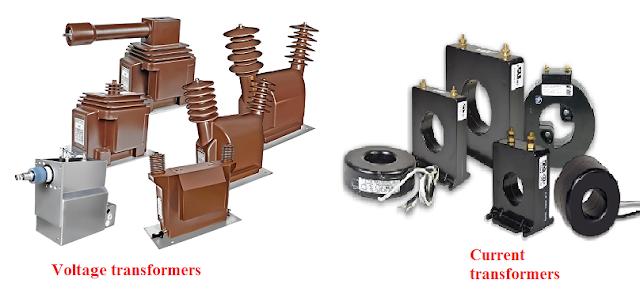 محولات الجهد والتيار Voltage and Current Transformers
