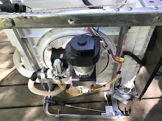 Underside mechanicals