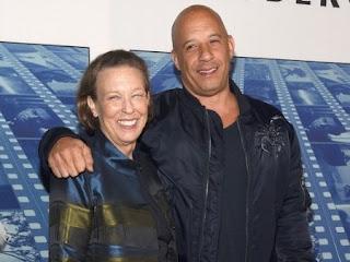 Delora Vincent with her celebrity son Vin Diesel