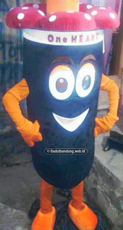 gambar kostum raflesia badut honda one heart