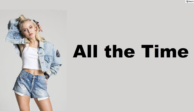 Video: Zara Larsson - All the Time